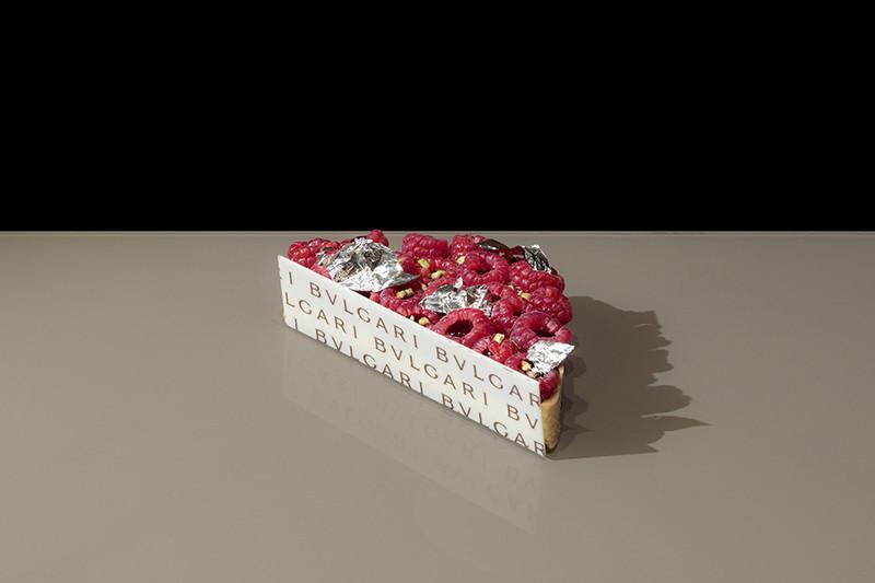 義式甜點BVLGARI IL CAFE-覆盆子水果塔