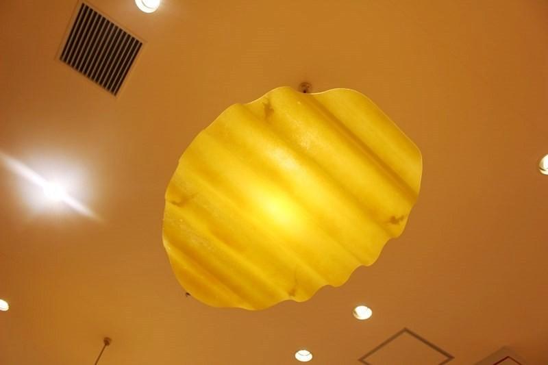 洋芋片造型燈罩
