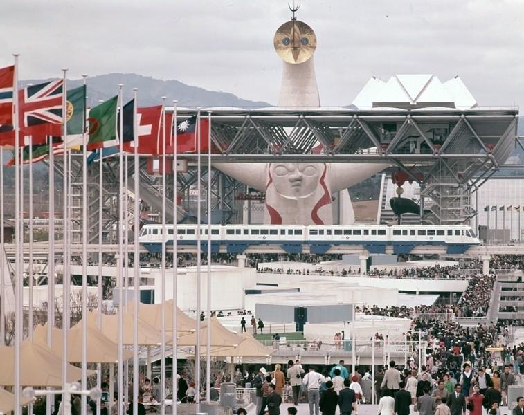 日本萬國博覧會大屋頂