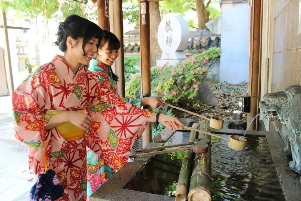 大阪人氣難波八坂神社