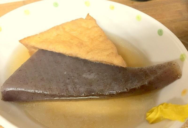 關東煮蒟蒻油豆腐