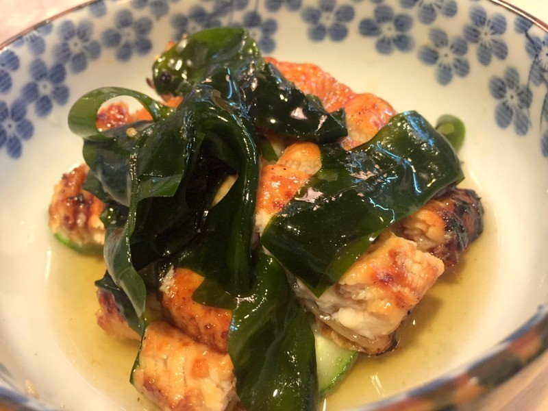鰻魚拌黃瓜