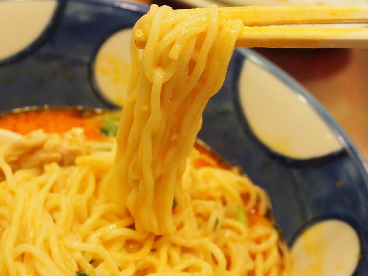 大阪京橋担担麺麵條