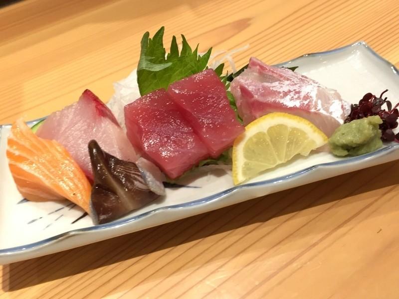 生魚片三種拼盤