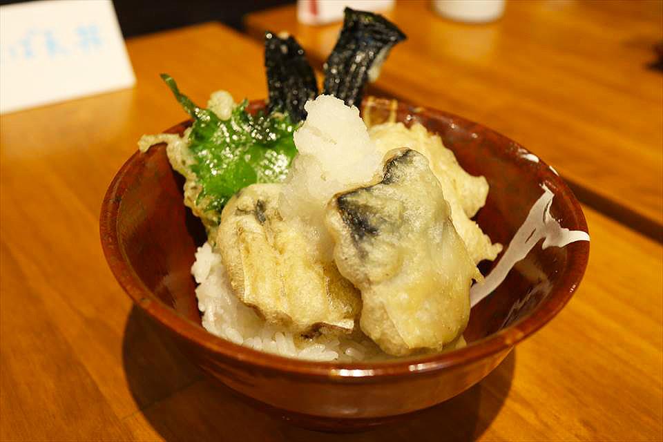 鯖魚天婦羅茶泡飯