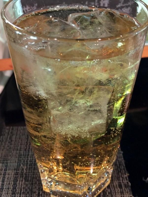 威士忌加上蘇打水