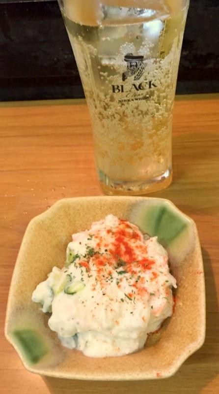 大阪立吞店MIKIYAみき屋馬鈴薯沙拉