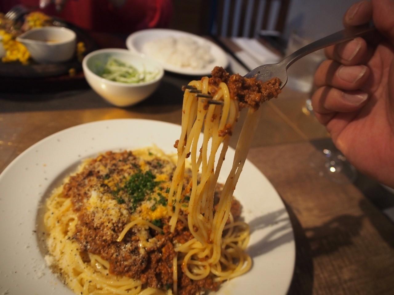 日式肉醬義大利麵
