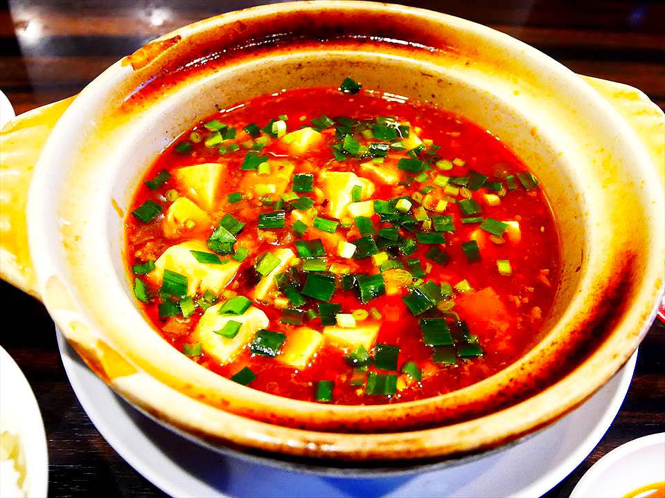 中華料理四川麻婆豆腐