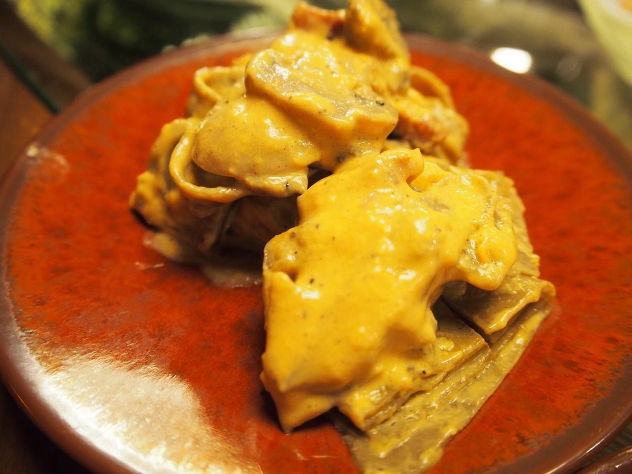 香濃培根蛋麵