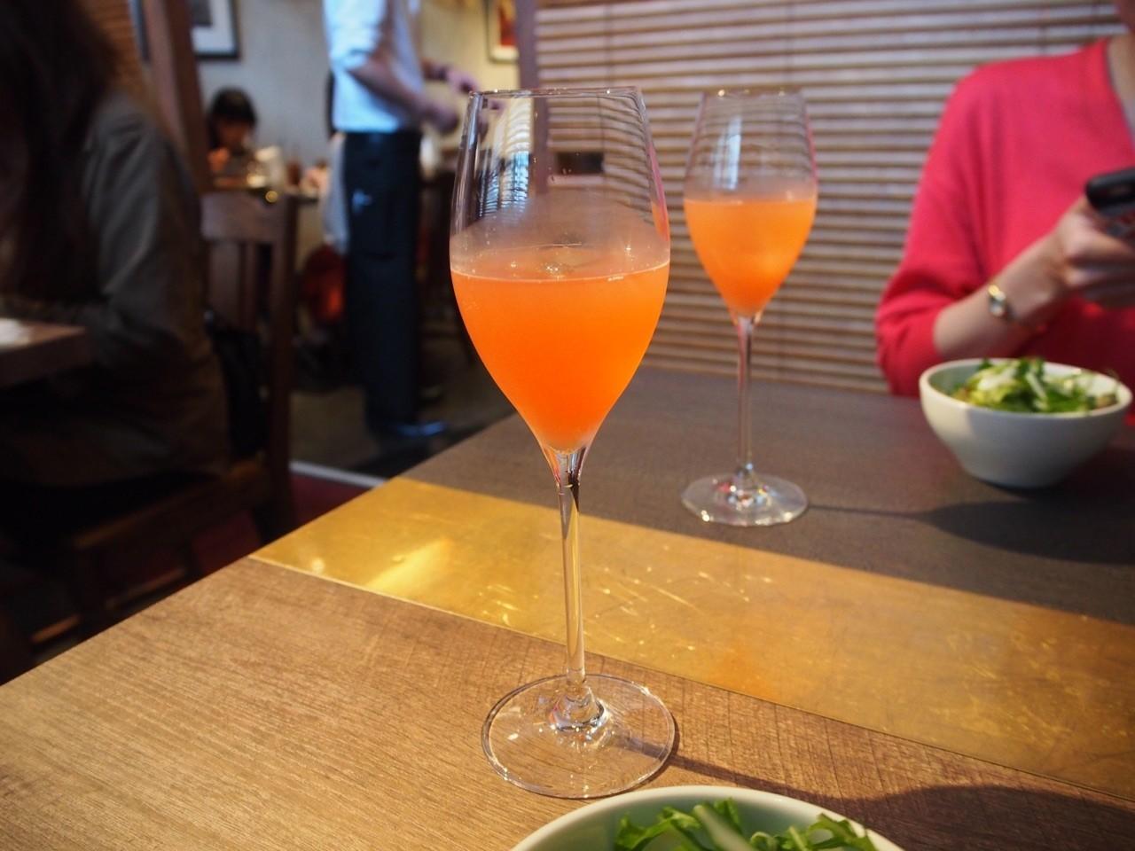 葡萄柚餐前酒