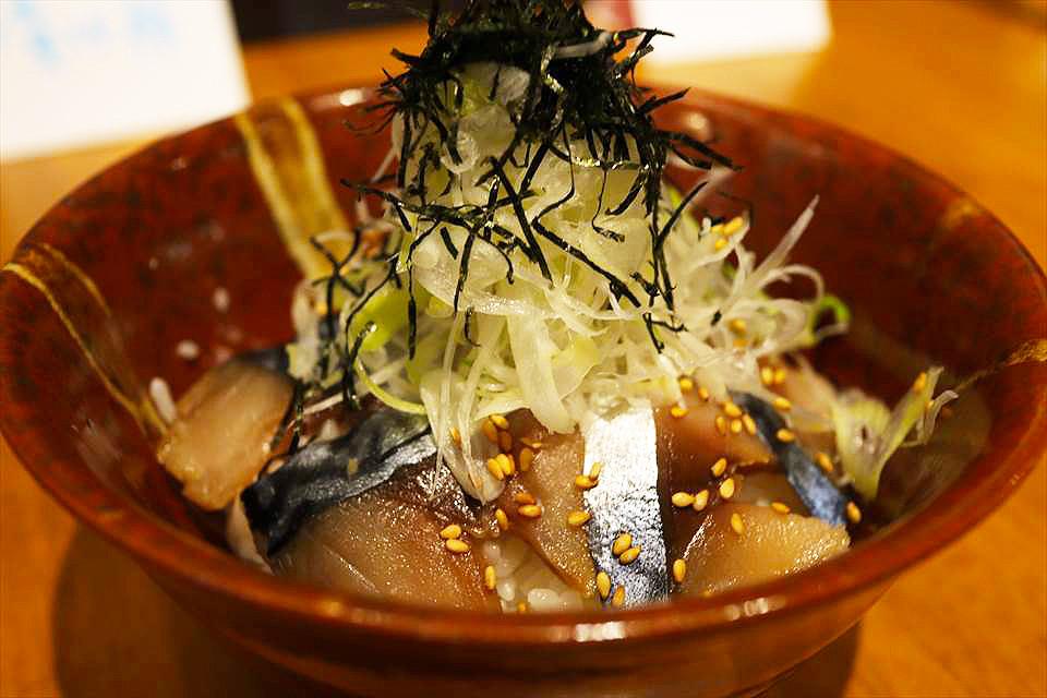 大阪南森町鯖魚丼