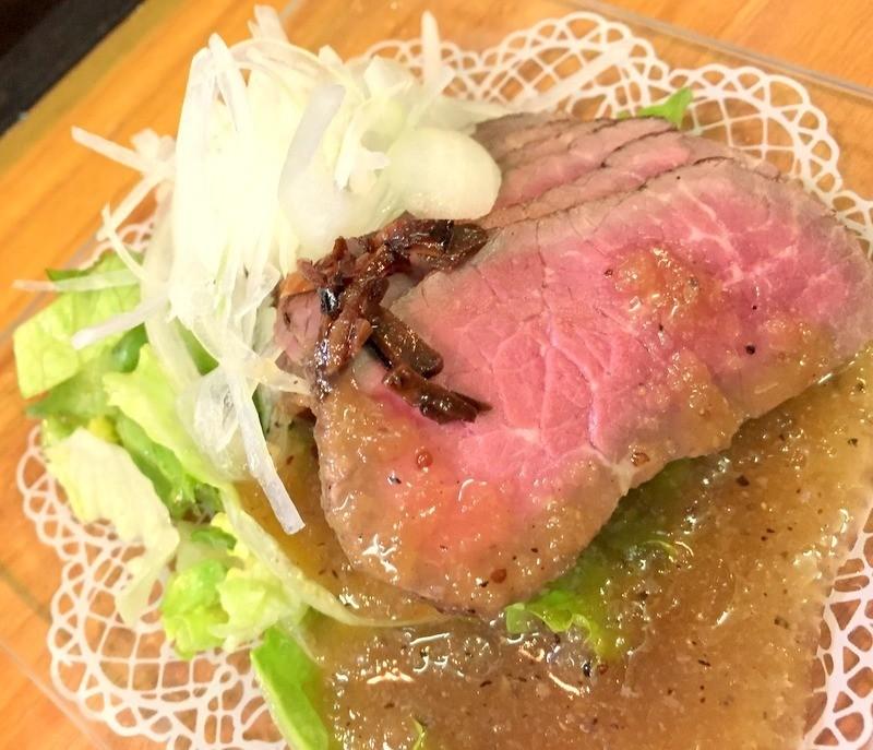 大阪立吞店MIKIYAみき屋開胃前菜里脊牛肉