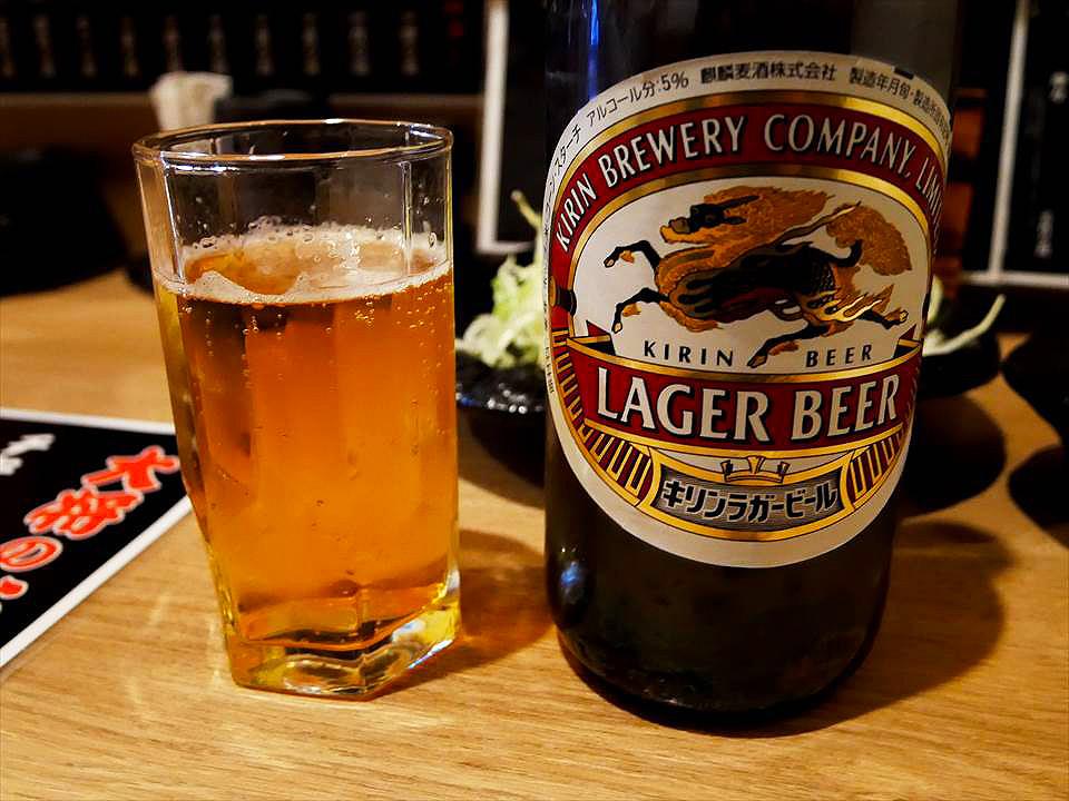 瓶裝麒麟啤酒