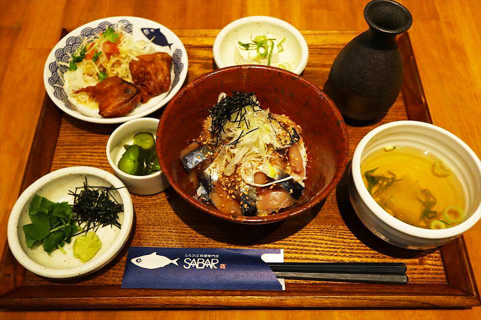 大阪鯖魚丼