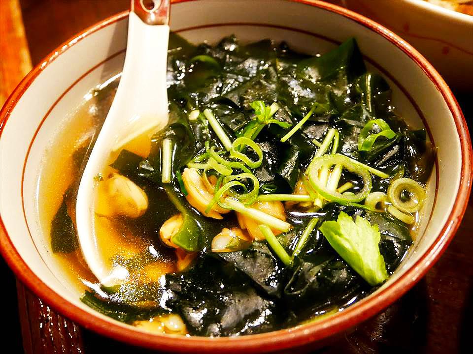 蛤蜊海帶湯