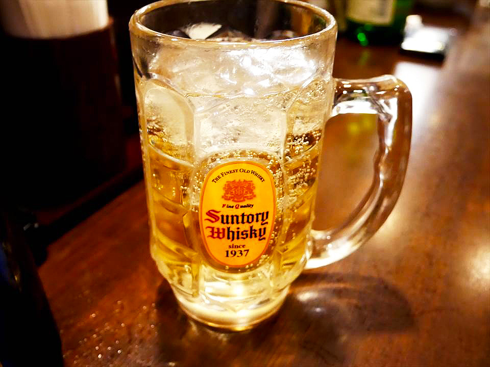 日本居酒屋碳酸威士忌