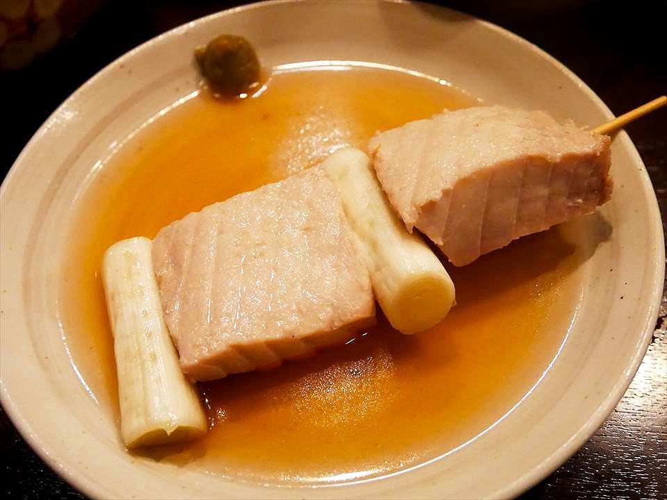 鮪魚蔥肉串