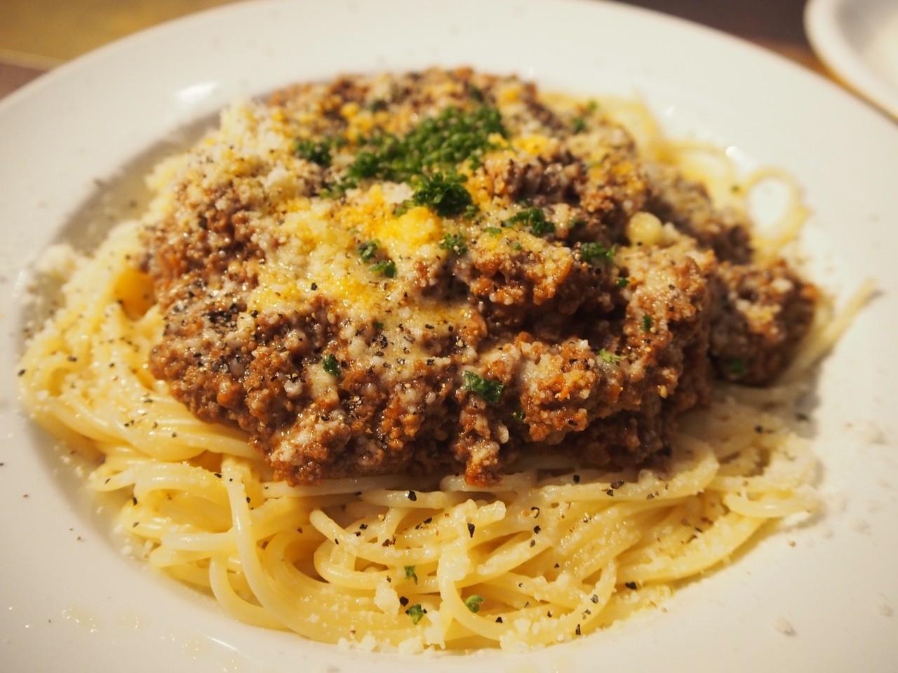 熟成肉醬義大利麵