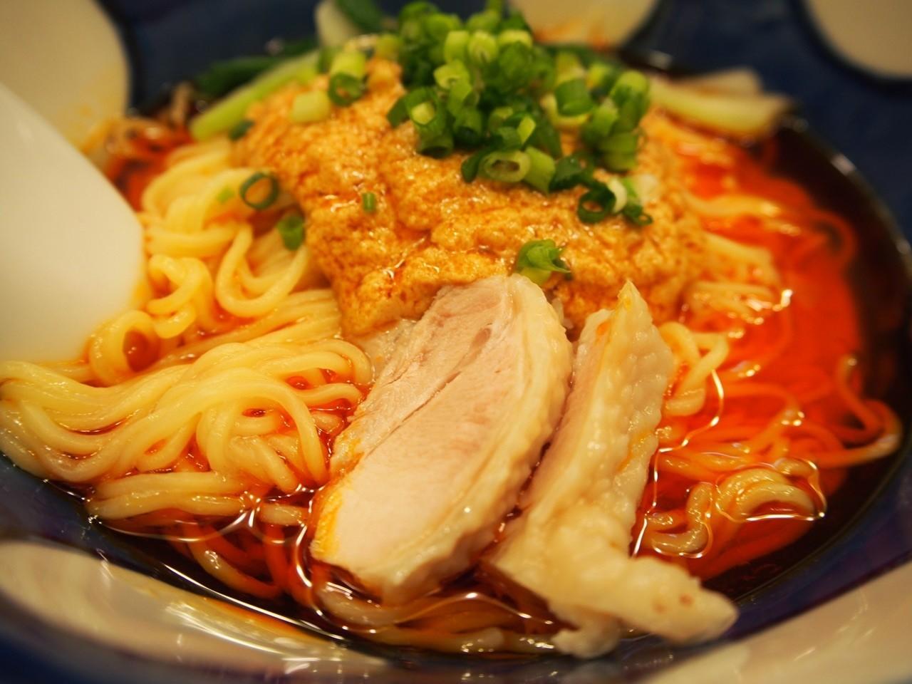 大阪辣油担担麺