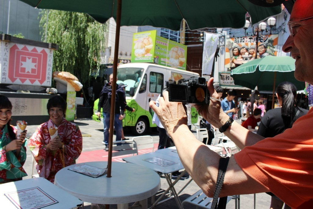 法國觀光客注目
