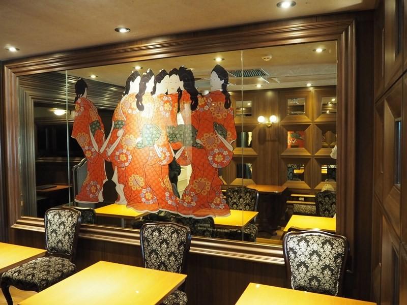 京都神乃咖啡店內擺設