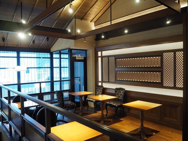 京都神乃咖啡店內