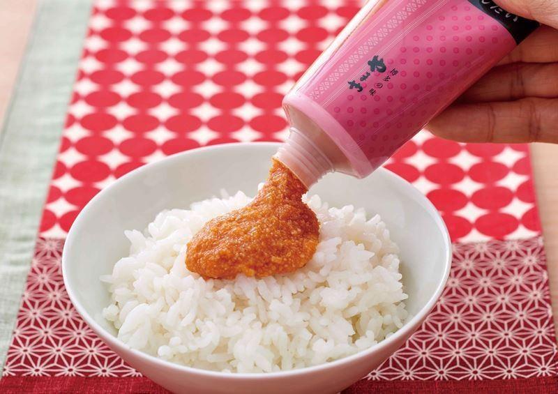 日本軟管式明太子醬