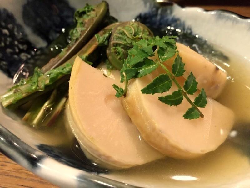 日式水煮竹筍