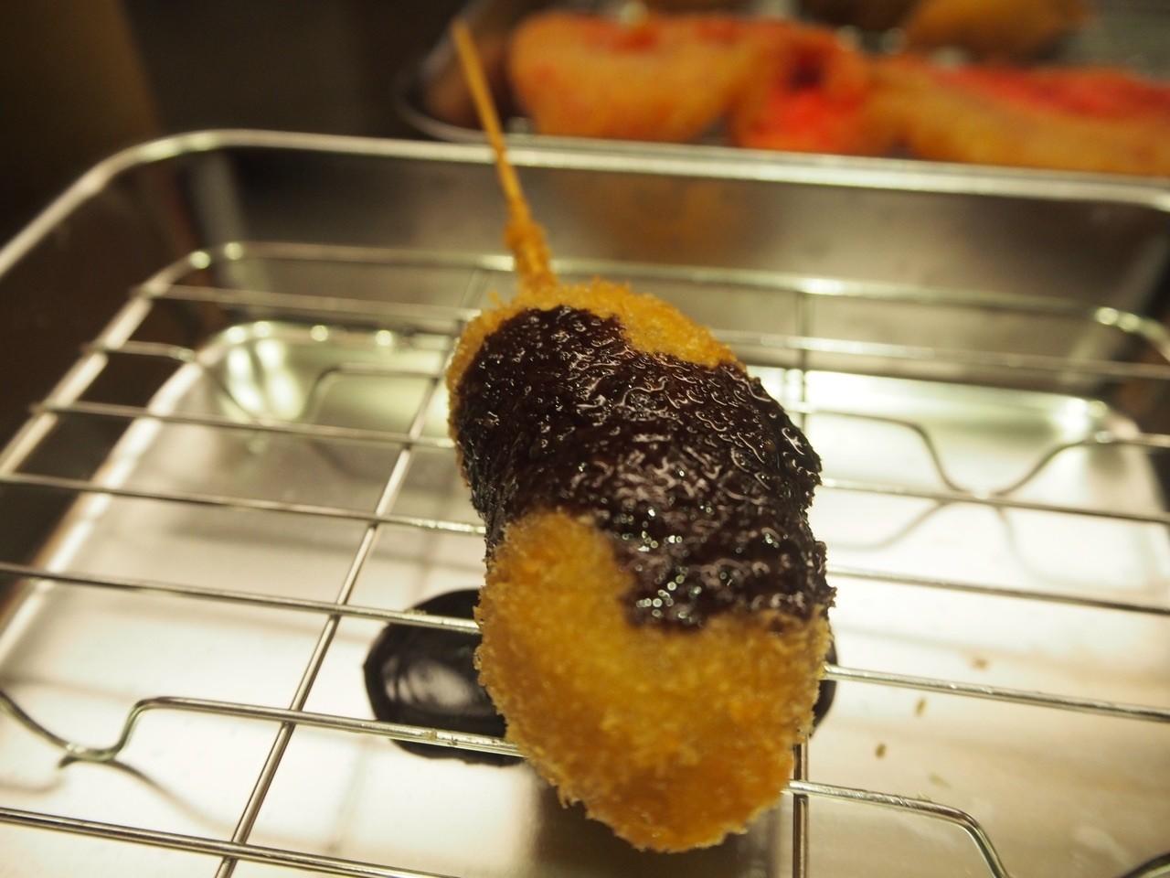 日本炸巧克力香蕉串