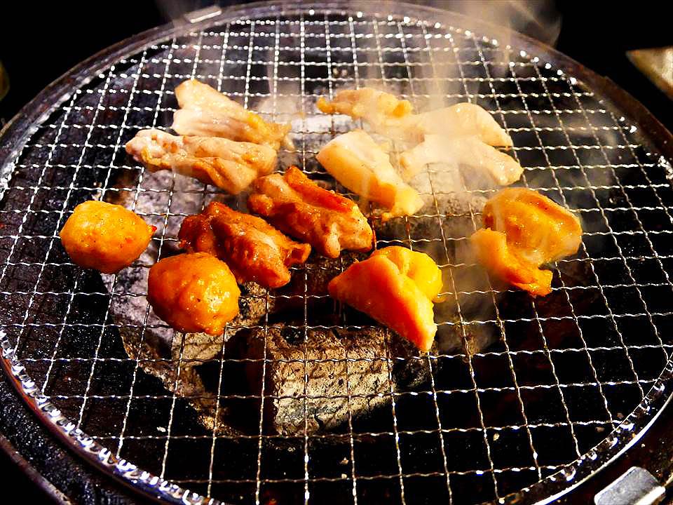 日本大阪雞肉碳烤