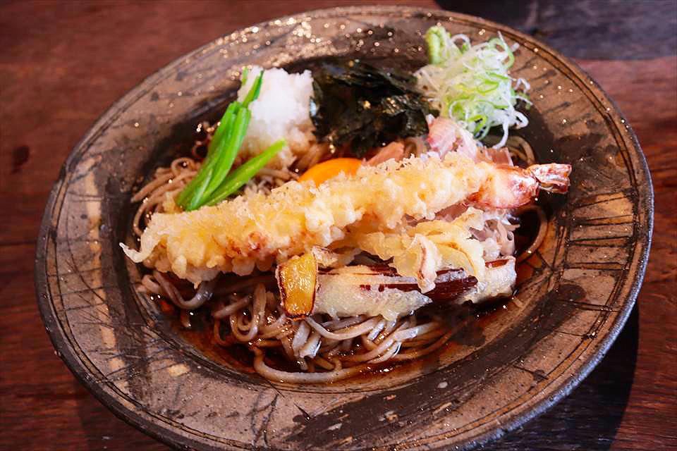 日本橋天婦羅蕎麥麵