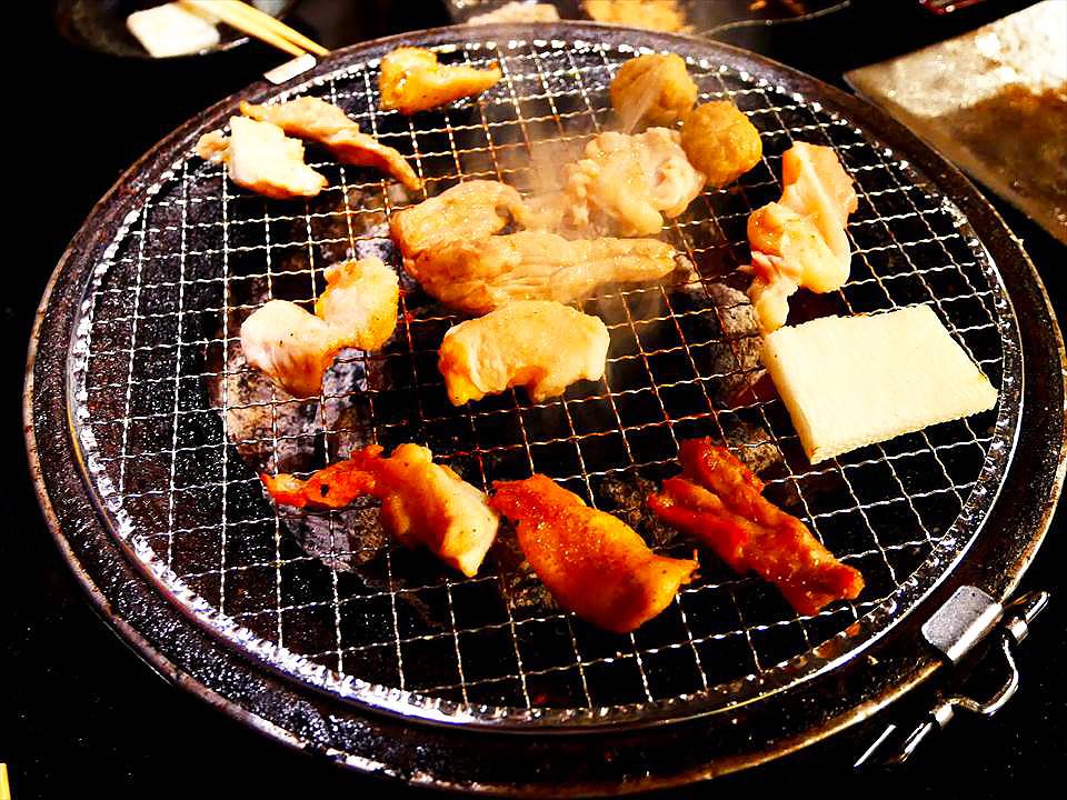 大阪人氣碳烤雞肉料理