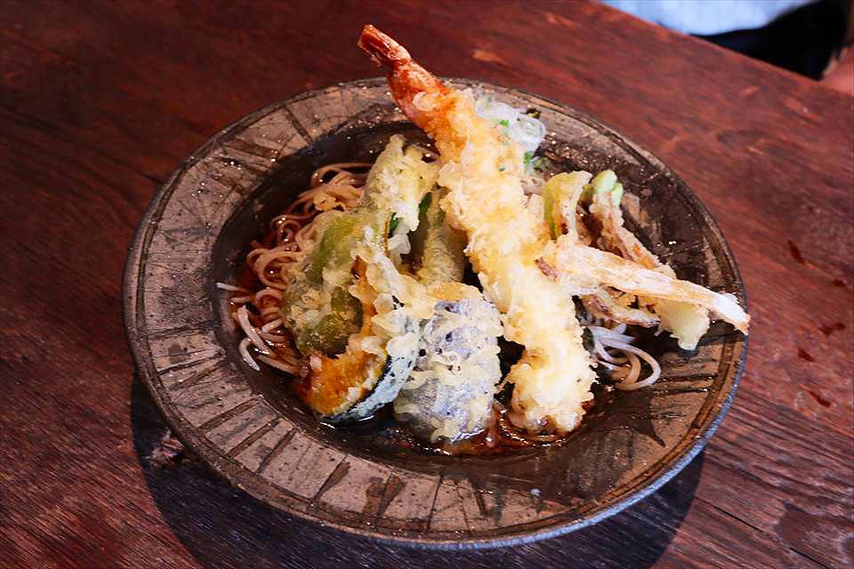 大阪炸蝦天婦羅蕎麥麵