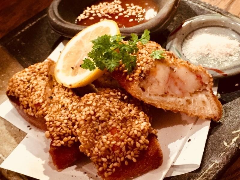 大阪必吃炸物 炸蝦酥餅