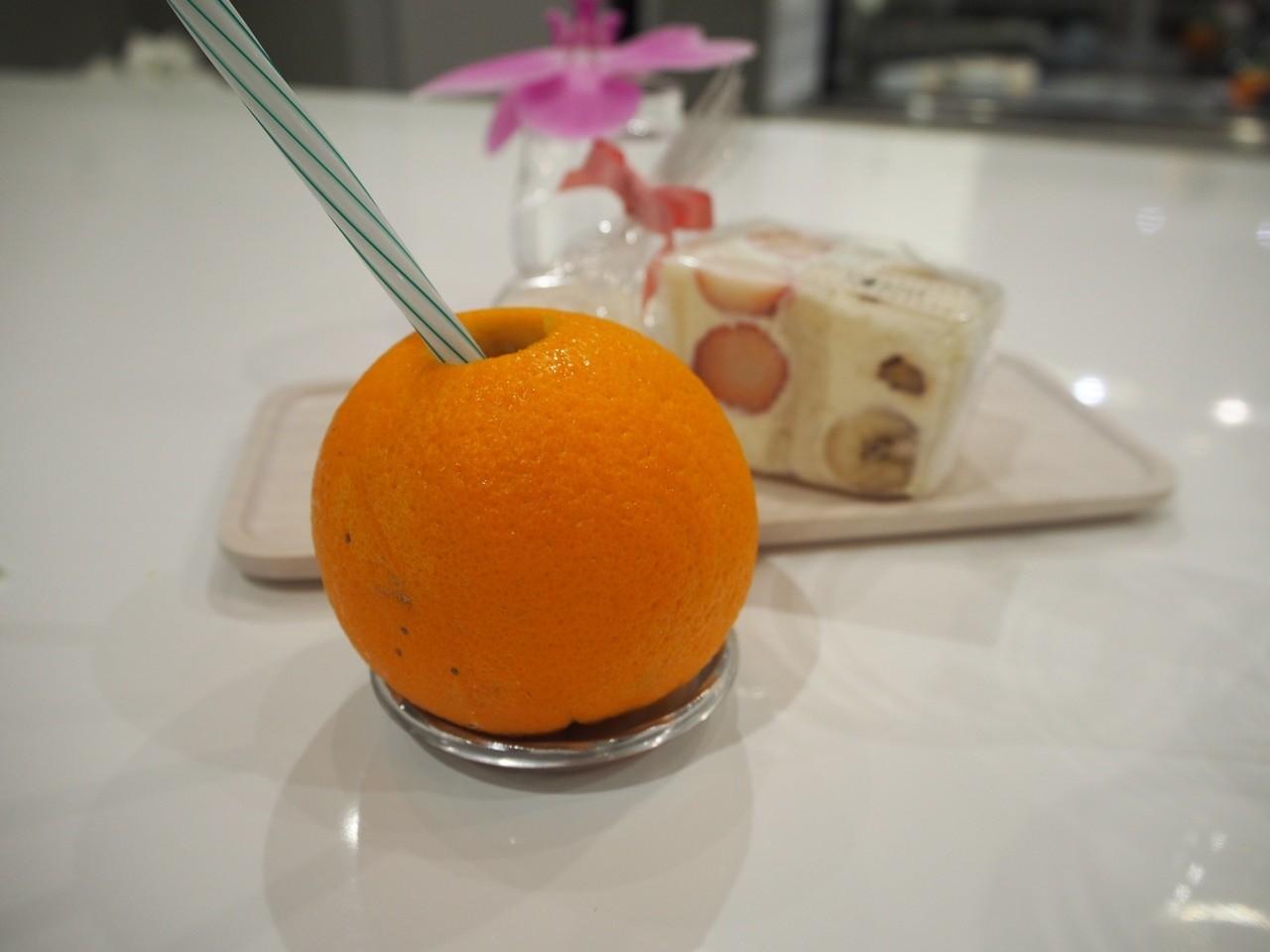 香柳橙三明治套餐