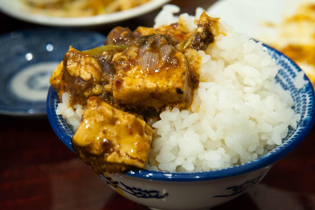 大阪麻婆豆腐定食