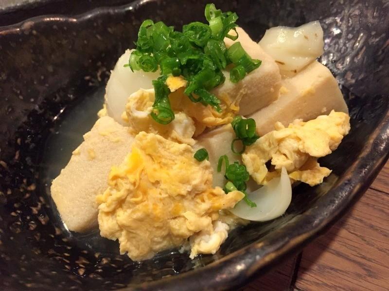 大阪立吞店日式豆腐雞蛋湯
