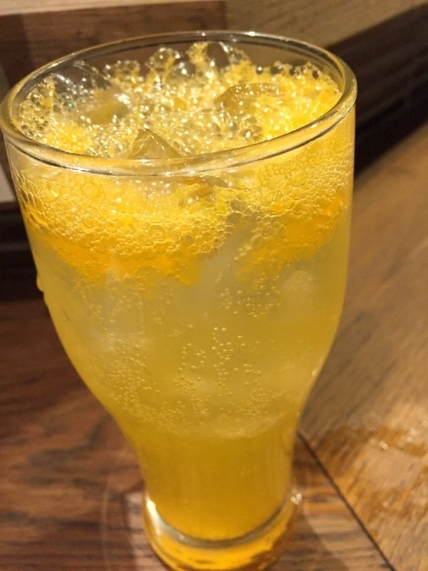日本大阪橘子碳酸威士忌