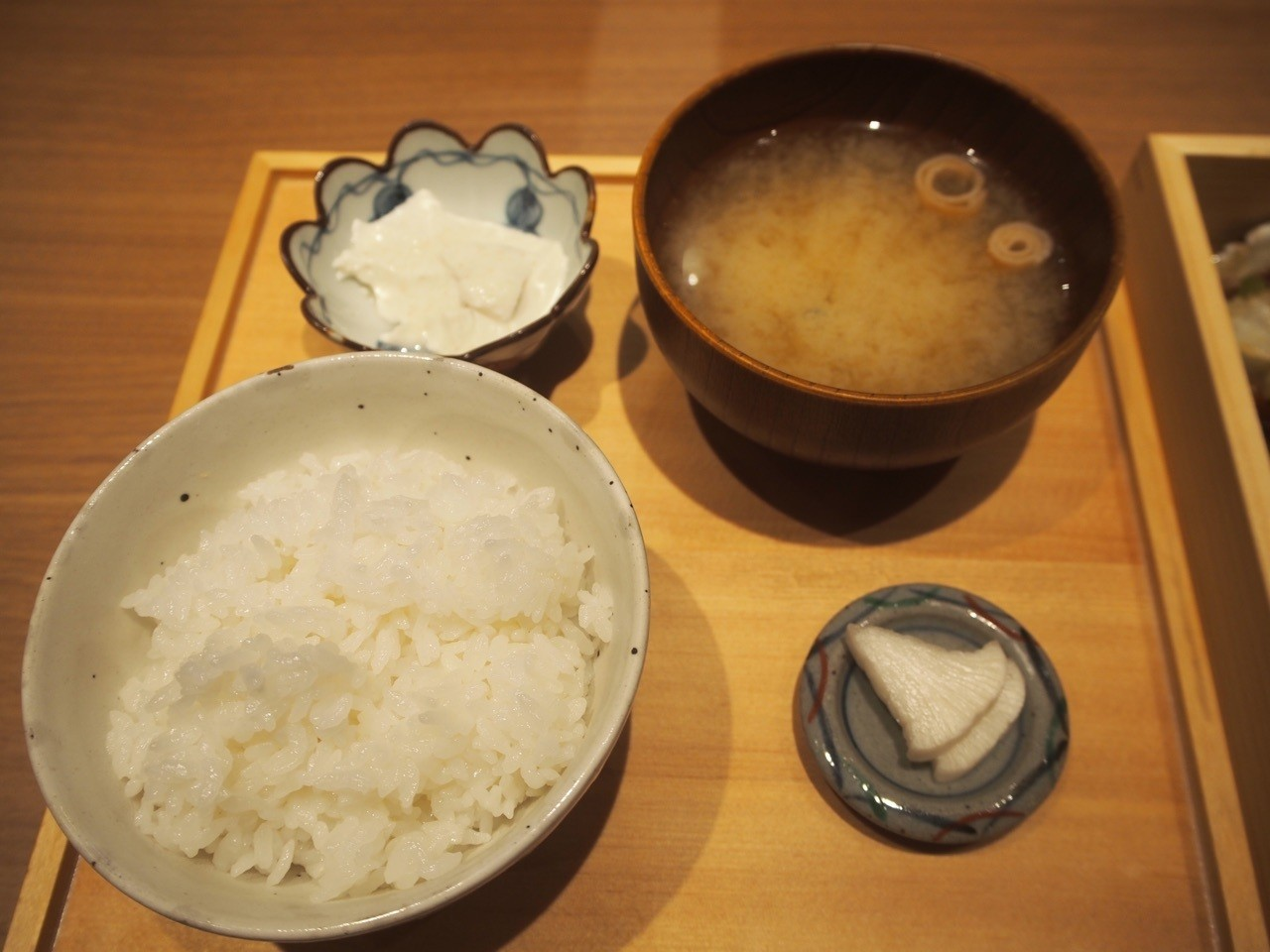 白米味噌湯