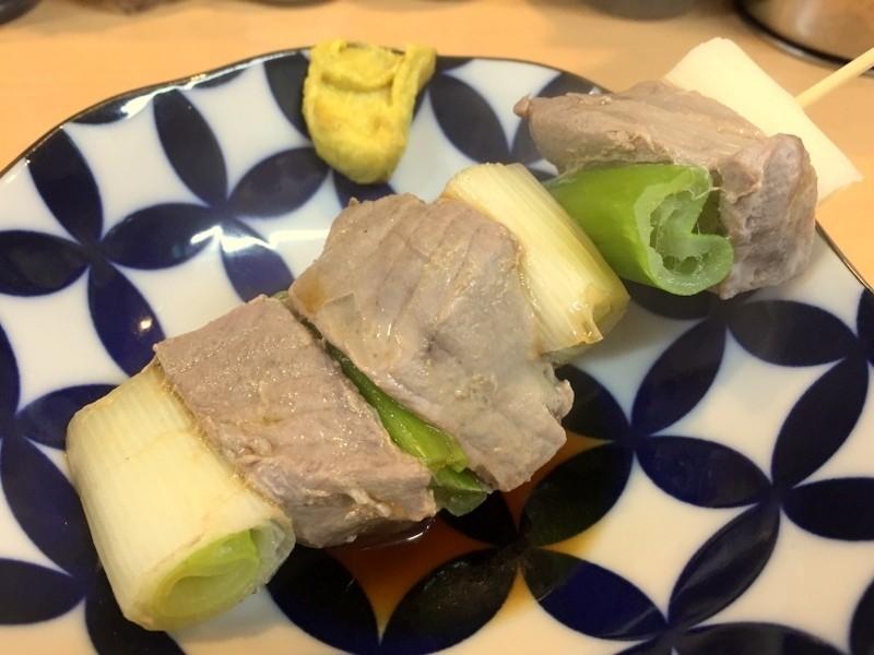大阪天滿鮪魚蔥串