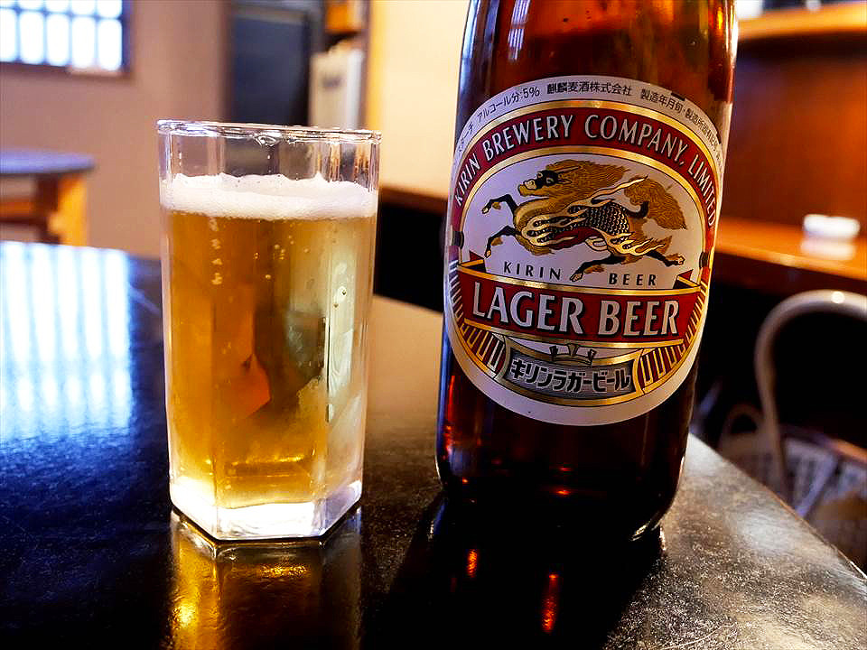 日本麒麟瓶裝啤酒