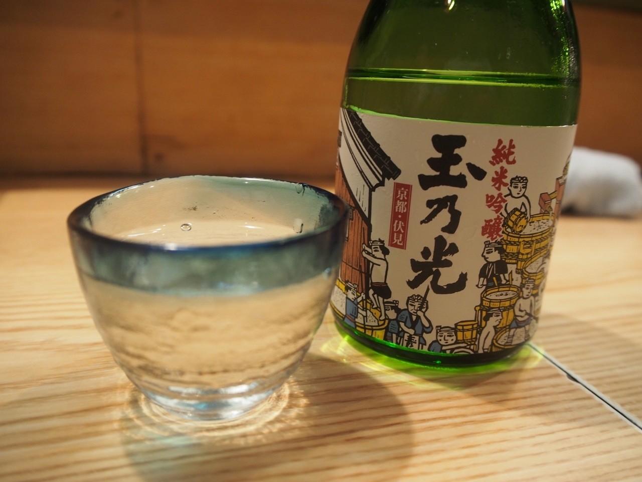 日本居酒屋玉乃光純米吟醸