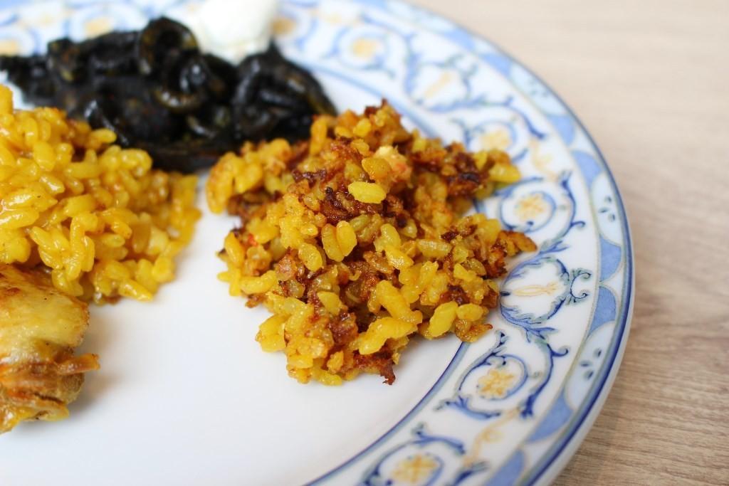 西班牙海鮮燉飯鍋巴