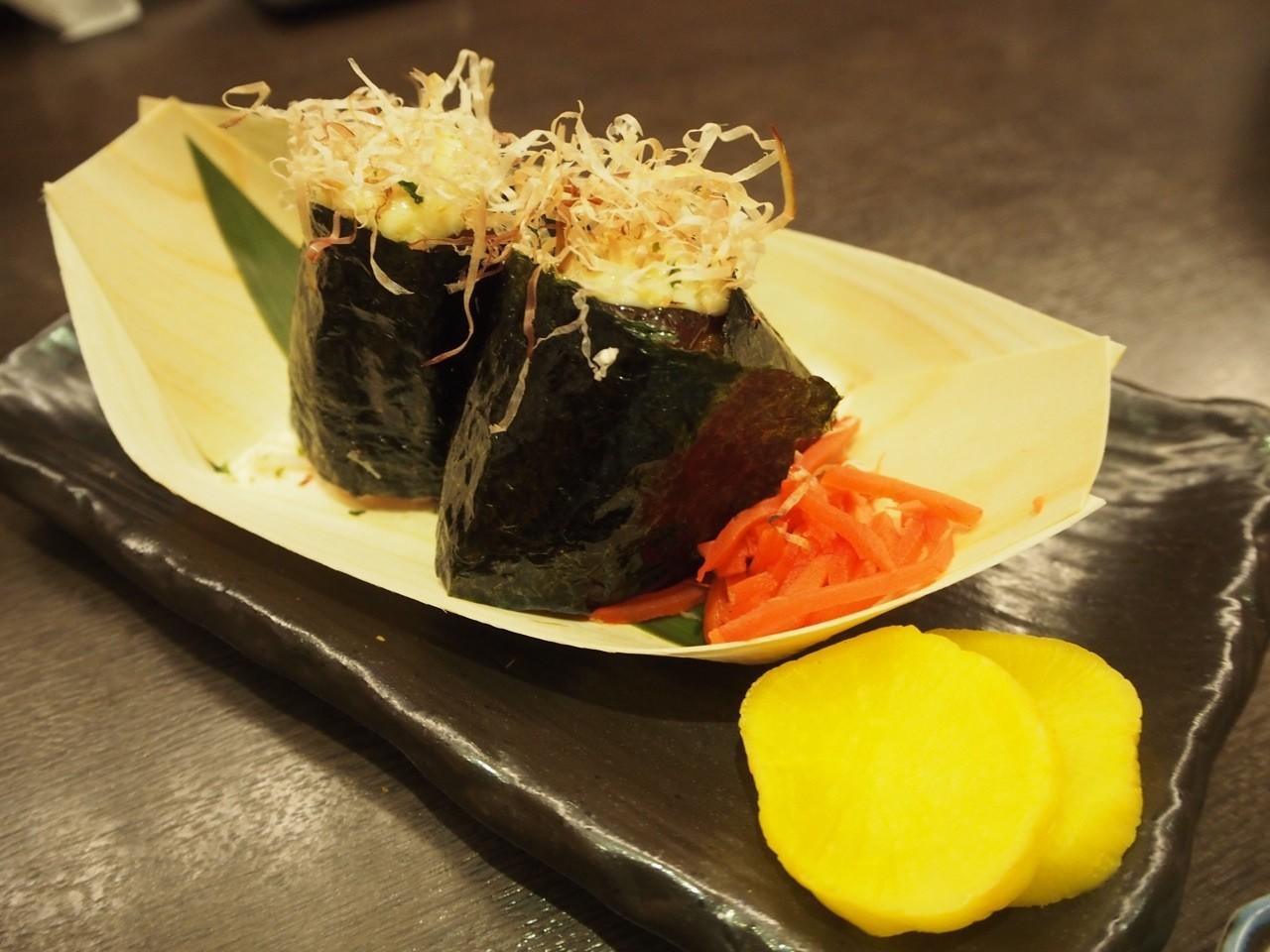 日本大阪名物章魚燒飯糰