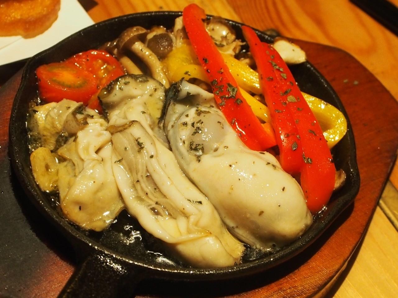 日本蒜香生蠔