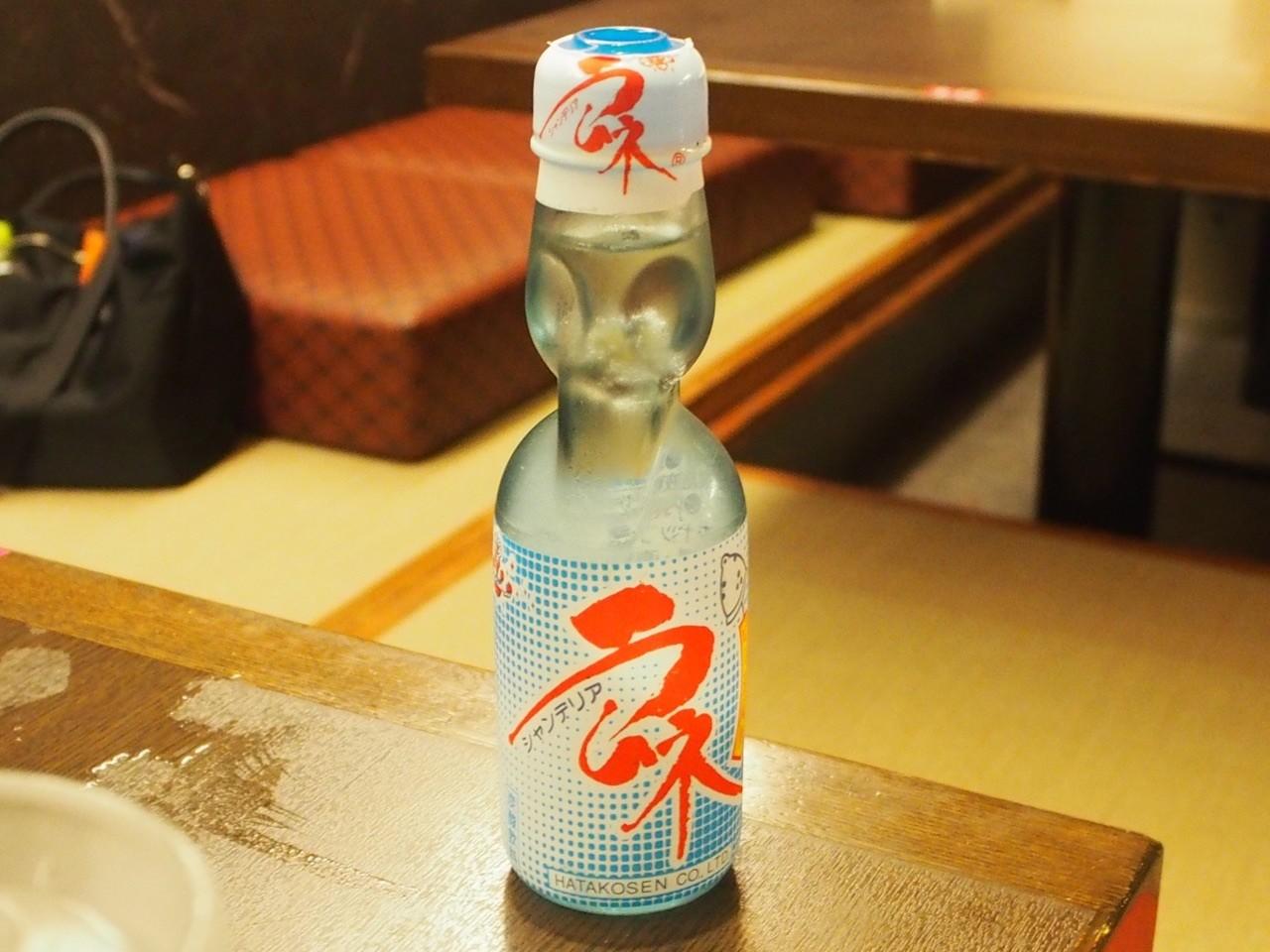 日本懷舊彈珠汽水