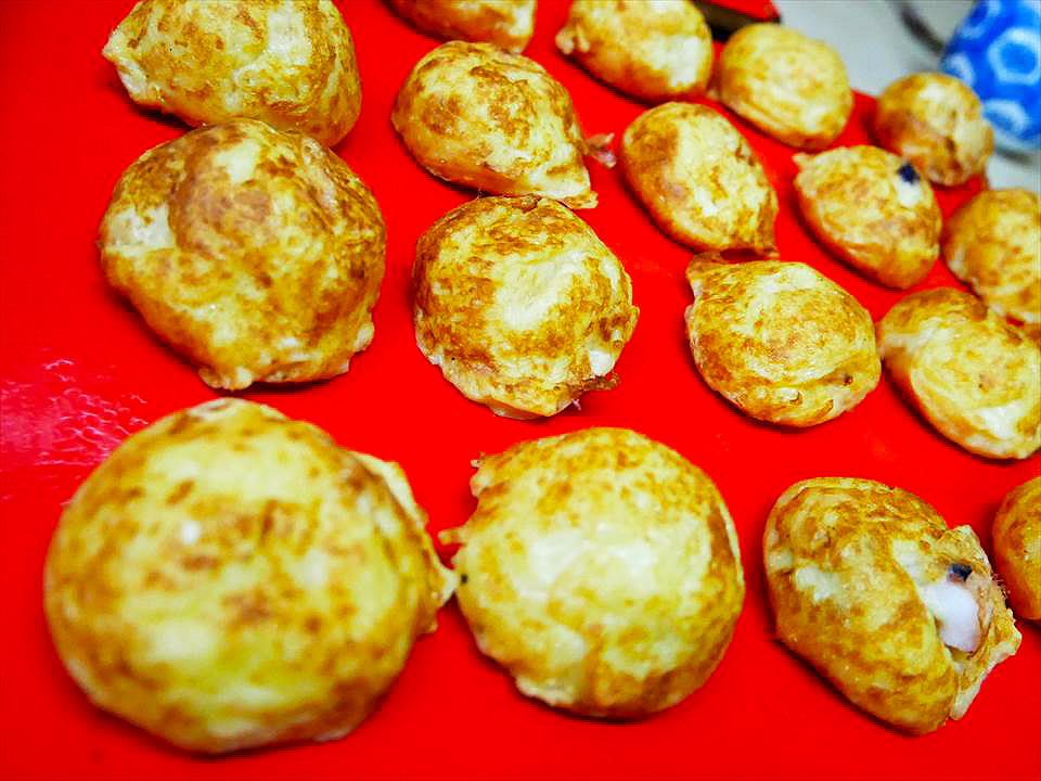 名物 金黃酥脆明石燒
