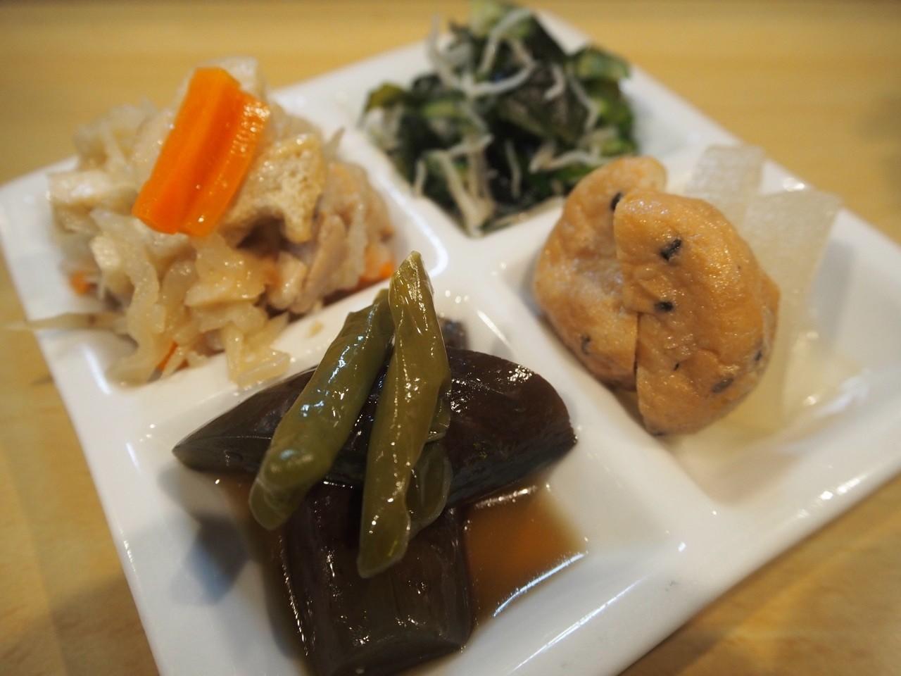 蔬菜四拼盤
