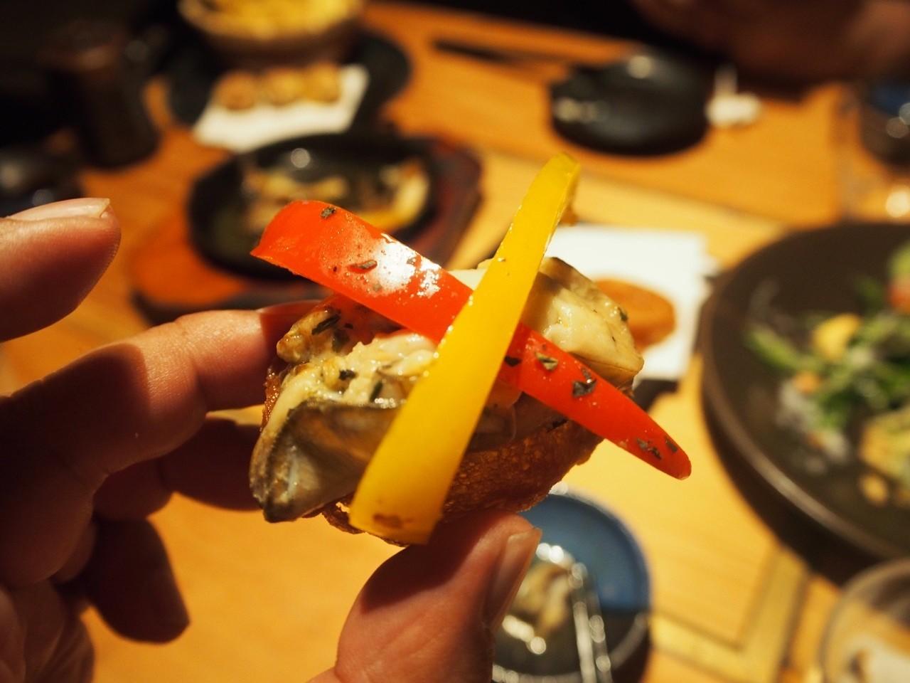 日本甜椒生蠔